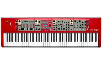 "Clavia Nord Stage2 a76 新 76 键 [两首"",请单击节点阶段 [76 键盘] [Syntesizer,synth] [键盘,键盘]"