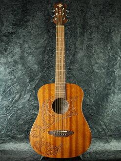 卢娜 SAF 纹身月新日 [Luna] [野生动物园,野生动物园] [纹身] [桃花心木] [迷你吉他,亲笔签名] [原声吉他,吉他,吉他,