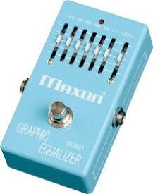 Maxon GE601 Graphic Equalizer 新品[マクソン][6バンド,6Band][グラフィックイコライザー][グライコ][GE-601]_cde