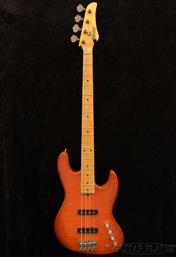 【アウトレット特価!!】Mike Lull M4 -Fire Orange- 新品[マイクルル][Jazz Bass,JB,ジャズベースタイプ][オレンジ][Active,アクティブ][Electric Bass,エレキベース]
