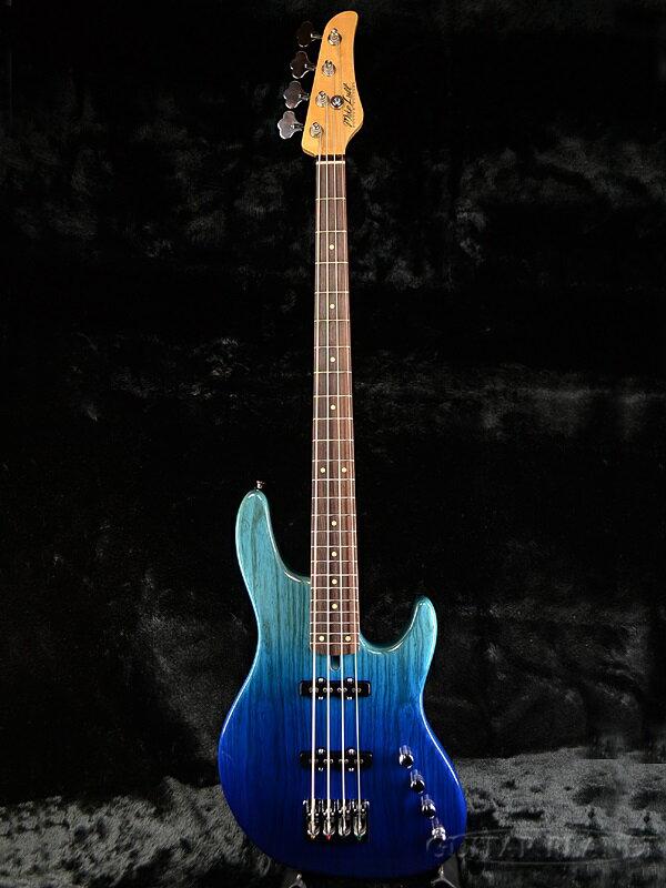 【当店オーダー品】Mike Lull M4XL -Fade Blue- 新品[マイクルル][フェイドブルー,青][Jazz Bass,JB,ジャズベースタイプ][Electric Bass,エレキベース]
