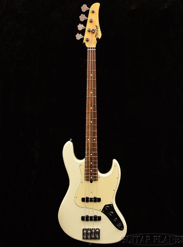 Mike Lull M4V -Olympic White- 新品[マイクルル][Jazz Bass,JB,ジャズベースタイプ][オリンピックホワイト,白][Active,アクティブ][Electric Bass,エレキベース]