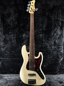 Mike Lull M5V -Aged Olympic White- 新品[マイクルル][オリンピックホワイト,白][5弦][Jazz Bass,JB,ジャズベースタイプ][Electric Bass,エレキベース]