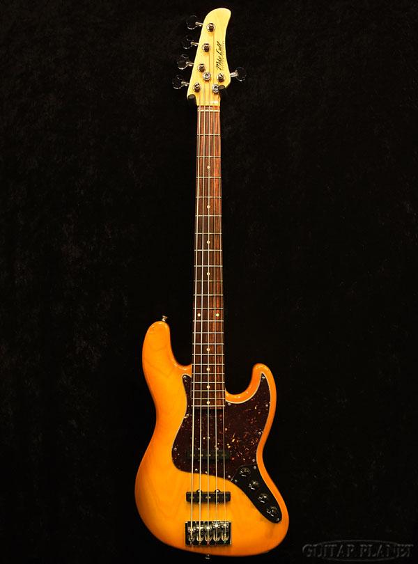Mike Lull M5V -Honey Burst- 新品[マイクルル][Jazz Bass,JB,ジャズベースタイプ][バニーバースト][5strings,5弦][Active,アクティブ][Electric Bass,エレキベース]