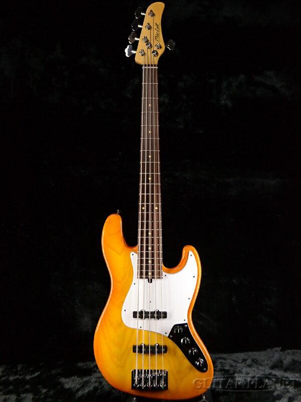 Mike Lull M5V -Honey Burst- 新品[マイクルル][ハニーバースト][5弦][Jazz Bass,JB,ジャズベースタイプ][Electric Bass,エレキベース]