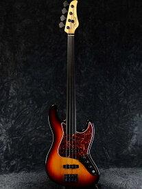 【中古】Mike Lull UV4 Fretless -3ToneSunburst- 2019年製[マイクルル][Jazz Bass,ジャズベースタイプ][サンバースト][フレットレス][Active,アクティブ][Electric Bass,エレキベース]【used_ベース】