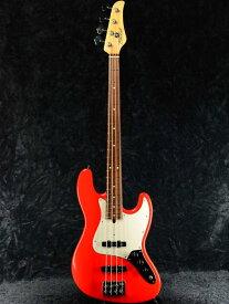 【中古】Mike Lull Custom Guitars V4 Alder -Hot Rod Red / Pau Ferro- 2018年製[マイクルル][Jazz Bass,ジャズベース][レッド,赤][Electric Bass,エレキベース]【used_ベース】