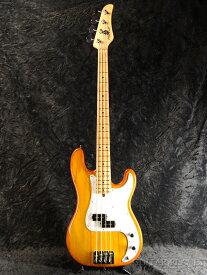 Mike Lull P4 -Honey Burst- 新品[マイクルル][ハニーバースト][Ash,Birdseye Maple,アッシュ,バーズアイメイプル][Precision Bass,プレシジョンベースタイプ,プレベ][Electric Bass,エレキベース]