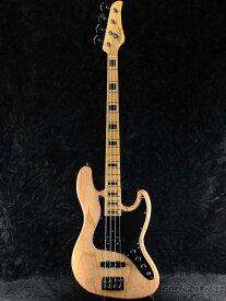 Mike Lull Custom Guitars V4 -Natural w/Black Block Position Mark- 新品[マイクルル][Bass,ベース]