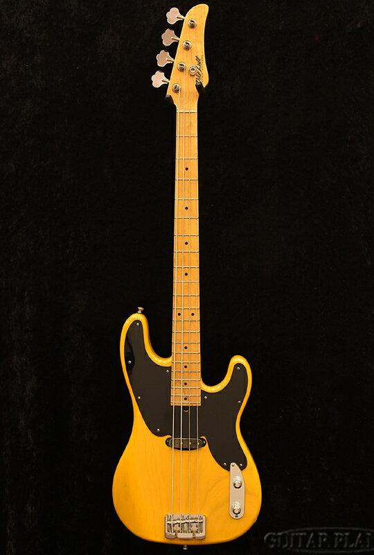 【中古】Mike Lull 54P -BTB-[マイクルル][BUTTERSCOTCH BLONDE,バタースコッチブロンド,黄][Precision Bass,PB,プレシジョンベースタイプ,プレベ][Electric Bass,エレキベース]【used_ベース】