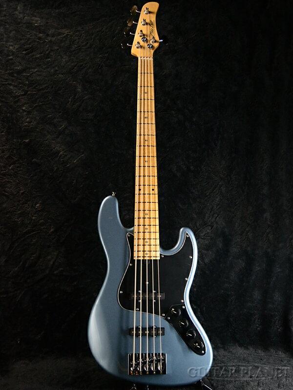 Mike Lull M5V -Tungsten Silver Metallic- 新品[マイクルル][タングステンシルバーメタリック][5弦][Jazz Bass,JB,ジャズベースタイプ][Electric Bass,エレキベース]