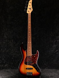 Mike Lull Custom Guitars M4V Alder -3-Tone Sunburst / Pau Ferro- 新品[マイクルル][Jazz Bass,ジャズベース][サンバースト][Electric Bass,エレキベース]