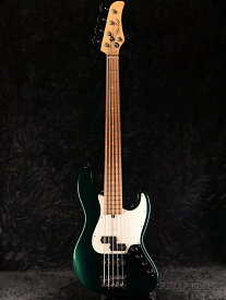 Mike Lull Custom Guitars PJ5-34 Alder -Dark Sherwood Green Metallic / Pau Ferro- 新品[マイクルル][グリーン,緑][5弦][Electric Bass,エレキベース]