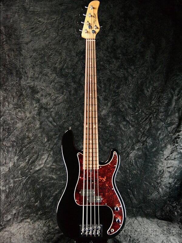 Mike Lull P5 -Black- 新品[マイクルル][ブラック,黒][Precision Bass,PB,プレシジョンベースタイプ][5strings,5弦][Electric Bass,エレキベース]