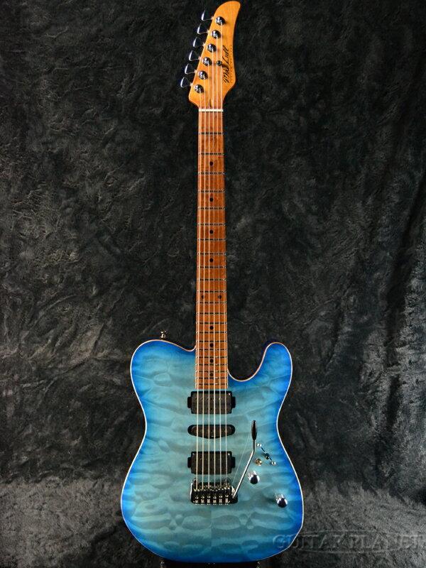 【当店カスタムオーダー品】Mike Lull TX -Planet Ocean Burst- 新品[マイクルル][Telecaster,TL,テレキャスタータイプ][プラネットオーシャンバースト,青][Electric Guitar,エレキギター]