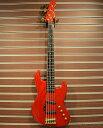 【中古】Moon JJ-5 -Transparent Red-[ムーン][国産][レッド,赤][Jazz Bass,ジャズベース][Electric Bass,エレキベース]【used_ベース】