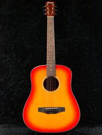 Morris LA-011 Cherry Sunburst -Performers edition- 新品[モーリス][チェリーサンバースト,CS][Acoustic Guitar,アコースティックギター,Folk Guitar,フォークギター,アコギ,ミニギター,トラベルギター][LA011]