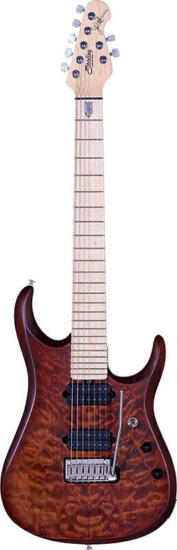 Sterling by MusicMan JP157 Sahara Burst 新品[スターリン][ミュージックマン][7弦][John Petrucci,ジョンペトルーシ][サハラバースト][Electric Guitar,エレキギター]