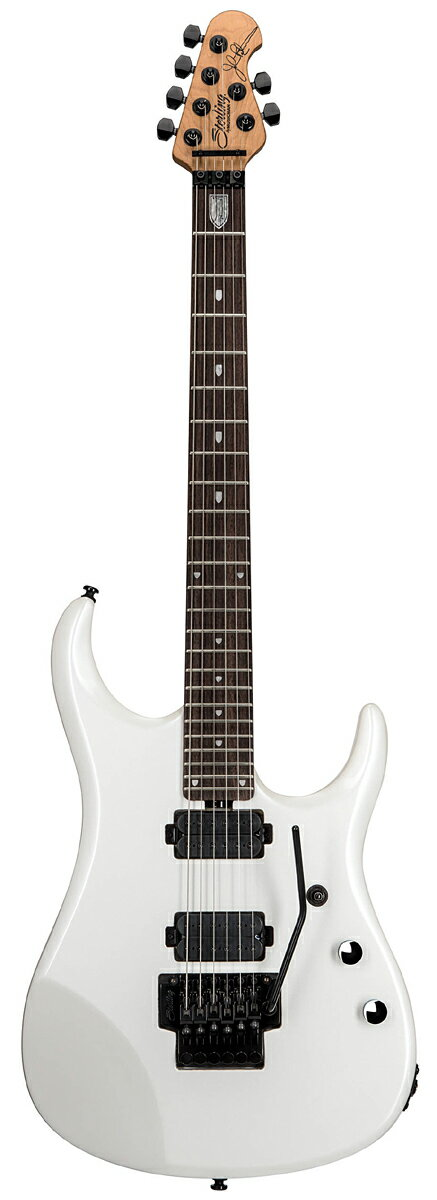 Sterling by MusicMan JP160 Pearl White 新品[スターリン][ミュージックマン][John Petrucci,ジョンペトルーシ][パールホワイトオ,白][Electric Guitar,エレキギター]
