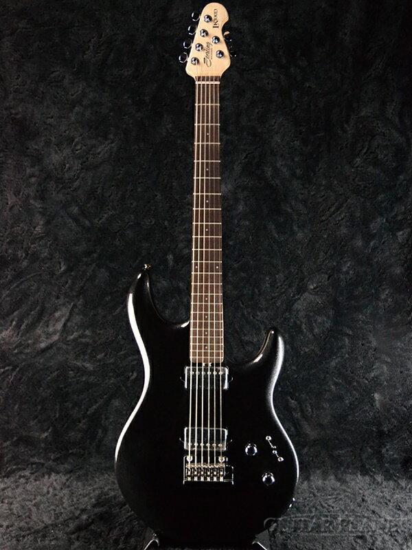 【新品特価!!】Sterling by MusicMan LK100D -Black Metallic- 新品[スターリン][ミュージックマン][ルーク,スティーヴルカサー][ブラックメタリック,黒][Electric Guitar,エレキギター]
