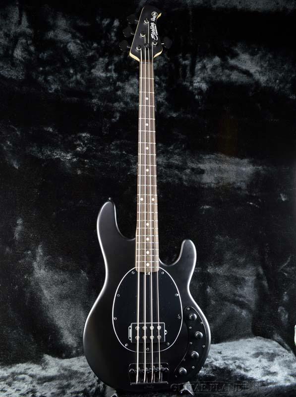 【ERNIE BALL弦プレゼント】Sterling by MUSICMAN Ray34 -Stealth Black- 新品[スターリン][ミュージックマン][StingRay,スティングレイ][ステルスブラック,黒][Electric Bass,エレキベース]