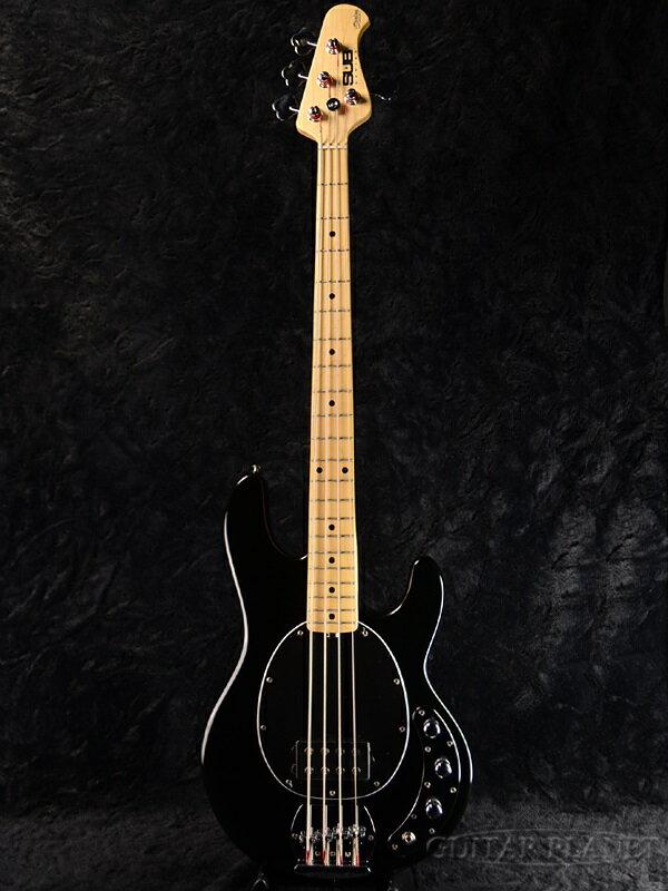 【ERNIE BALL弦プレゼント】Sterling by MUSIC MAN Ray4 -Black- 新品[スターリン][ミュージックマン][スティングレイ][ブラック,黒][Electric Bass,エレキベース]