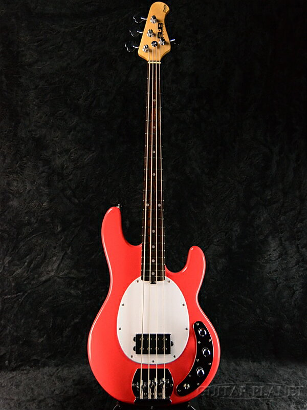 【ERNIE BALL弦プレゼント】Sterling by MUSIC MAN Ray4 -Fiesta Red/R- 新品[スターリン][ミュージックマン][スティングレイ][フィエスタレッド,赤][Electric Bass,エレキベース]