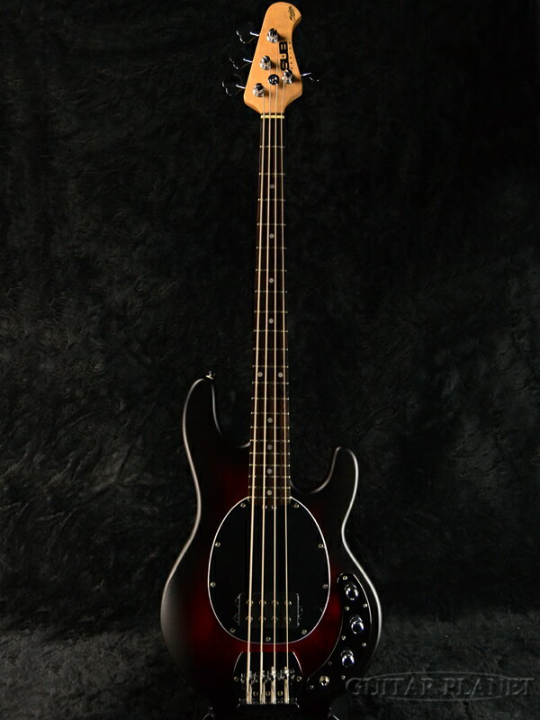 【ERNIE BALL弦プレゼント】Sterling by MUSIC MAN Ray4 -Red Ruby Burst Satin/R- 新品[スターリン][ミュージックマン][スティングレイ][レッドルビーバースト][Electric Bass,エレキベース]