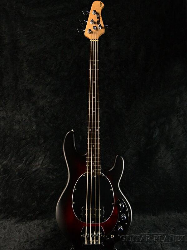 【ERNIE BALL弦プレゼント】Sterling by MUSIC MAN Ray4 -Red Ruby Burst Satin/R- 新品[スターリン][ミュージックマン][スティングレイ][レッドルビーバースト][Electric Bass,エレキベース]
