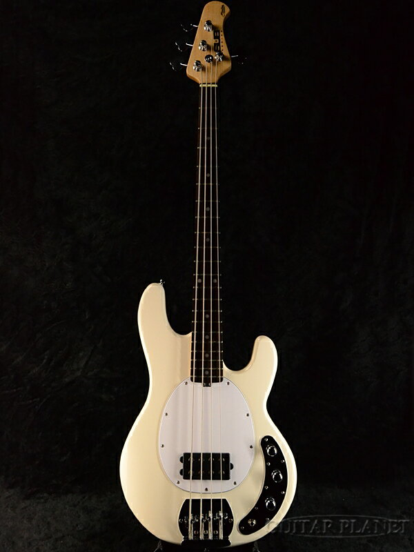 【ERNIE BALL弦プレゼント】Sterling by MUSIC MAN Ray4 -Vintage Cream/R- 新品[スターリン][ミュージックマン][スティングレイ][ホワイト,白][Electric Bass,エレキベース]