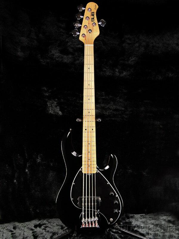 Sterling by MUSIC MAN Ray5 Black 新品[スターリン][ミュージックマン][5弦][ブラック,黒][Electric Bass,エレキベース]