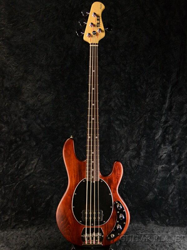 【ERNIE BALL弦プレゼント】Sterling by MUSIC MAN Ray4 -Walnut Satin- 新品[スターリン][ミュージックマン][スティングレイ][ウォルナットサテン,茶色][Electric Bass,エレキベース]