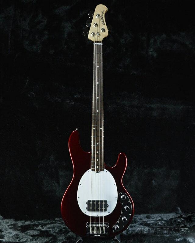 MusicMan StingRay 4 -Candy Red- 新品[ミュージックマン][スティングレイ][キャンディレッド,赤][Electric Bass,エレキベース]