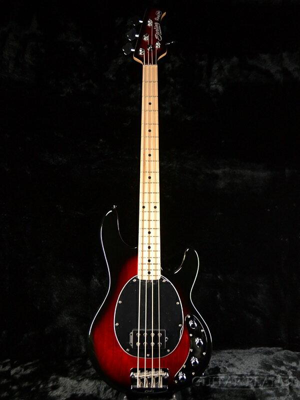 【ERNIE BALL弦プレゼント】Sterling by MusicMan Ray34 -Ruby Red Burst- 新品 [スターリン][ミュージックマン][Stingray,スティングレイ][ルビーレッドバースト,赤][Electric Bass,エレキベース]