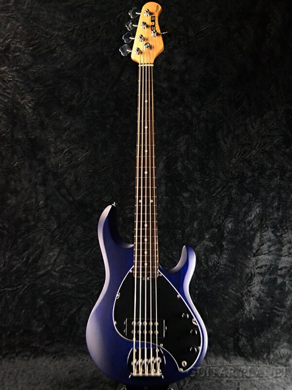 Sterling by MUSIC MAN Ray5 Trans Blue Stain 新品[スターリン][ミュージックマン][5弦][トランスブルーサテン,青][Electric Bass,エレキベース]