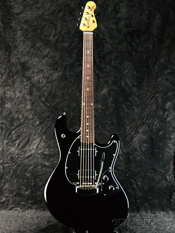 【アウトレット大特価】MusicMan StingRay Guitar -Black-[ミュージックマン][スティングレイ][ブラック,黒][Electric Guitar,エレキギター]