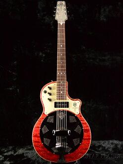 国家红 Resolectric 全新 p-90 与 [国家],[resorek 技巧] [红色,红色] [谐振器、 谐振器、 [与回升] [原声吉他,吉他,吉他,