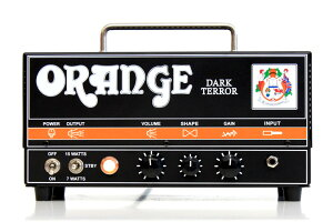 【15W】Orange Dark Terror 新品 ギターアンプヘッド[オレンジ][ダークテラー][Black,ブラック,黒][真空管搭載][Guitar Amplifier,Head]