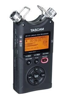 TASCAM 博士 40 全新线性 PCM 录音机 [Tascam] [DR40] [手持录音机,手持录音机]