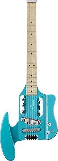 旅行者吉他 Speedster 热棒经典蓝色 V2 全新经典蓝