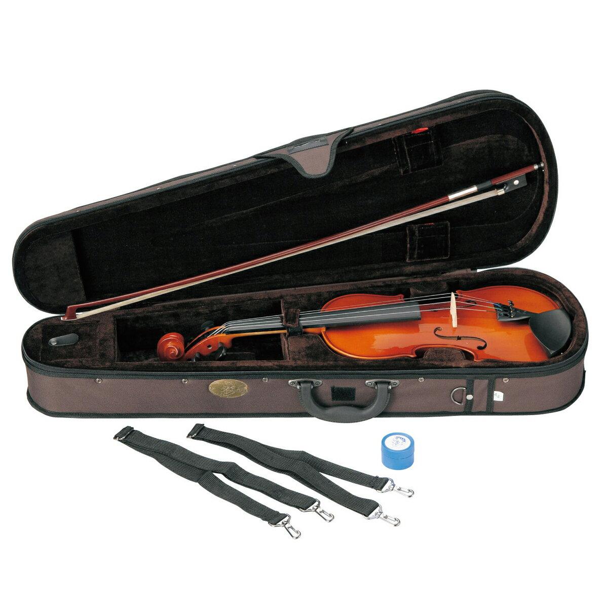 【弓/松脂/ケース付】STENTOR SV-120 1/10 新品 バイオリンセット[ステンター][Violin,ヴァイオリン][初心者/入門用][分数]