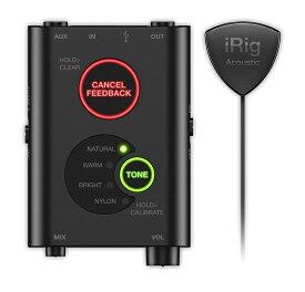 iRig Acoustic Stage IK Multimedia 新品 アコギ/ウクレレ用マイク/インターフェース[アイリグ][アコースティックステージ][iPhone,iPad,iPod touch][Guitar/Ukulele Microphone,Pick Up,ピックアップ][Audio Interface]