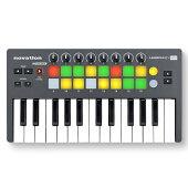 【送料無料】NovationLaunchkeyMini新品[ノベーション][ラウンチキー][USB/MIDIコントローラー][ミニキーボード]