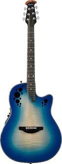 品牌新到加 C2078AXP 富豪 Ovation 精英自然 (RB) [鼓掌,和精英加上 [蓝色,蓝色,蓝色] [电力] [原声吉他,吉他,吉他,民谣吉他,民谣吉他,
