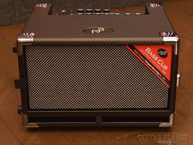 【限定カラー】【100W】Phil Jones BassBass Cub Carbon Black BG-100 新品[フィルジョーンズ][カーボンブラック,黒][ベースアンプ/コンボ,Bass Combo Amplifier]