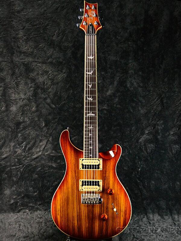 Paul Reed Smith SE Custom 24 Zebrawood Vintage Sunburst 新品[ポールリードスミス,PRS][SEカスタム][ゼブラウッド][サンバースト][Electric Guitar,エレキギター]