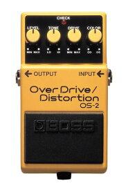 BOSS OS-2 新品 OverDrive/Distortion[ボス][エフェクター,Effector][オーバードライブ][ディストーション]