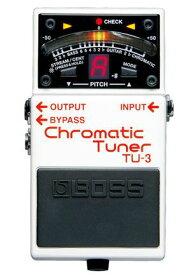 BOSS TU-3 新品 Chromatic Tuner[ボス][ペダルチューナー,Pedal Tuner]