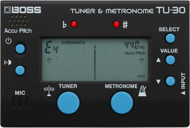 BOSS TU-30 Tuner & Metronome 新品[ボス][チューナー,メトロノーム][TU30]