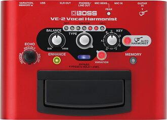 老板 VE 2 人声效果 [老板] [VE2] 的新品牌 [声乐和谐,vorcalharmonist] [效应器和效应器]